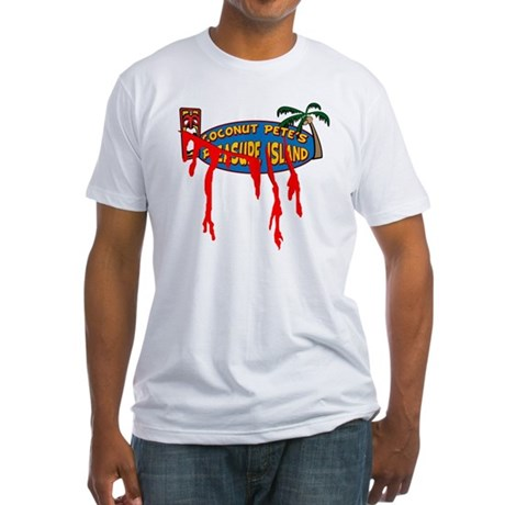 Coconut Pete's Victim Fitted T-Shirt