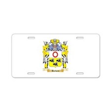 Barbaro Aluminum License Plate