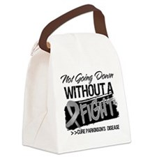 Not Going Down Parkinsons Disease Canvas Lunch Bag
