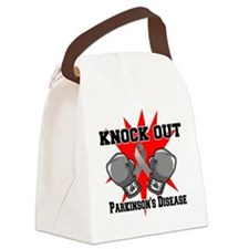Knock Out Parkinsons Disease.png Canvas Lunch Bag