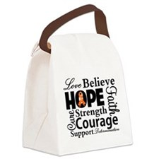 Love Believe Collage RSD Canvas Lunch Bag