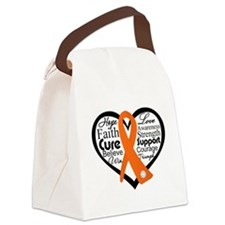 RSD Hope Heart Collage Canvas Lunch Bag