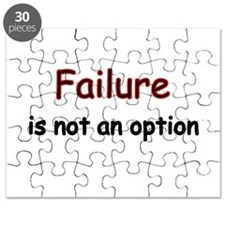 Failure is not an option Puzzle