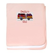 "Daddy""s Girl Fireman baby blanket"