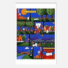 Westie Adventures Postcards (Package of 8)