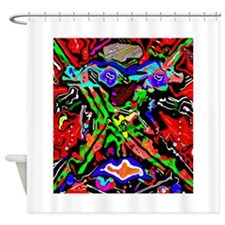 Tanzanian Medicine Woman Shower Curtain