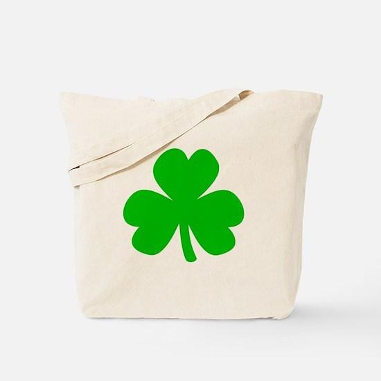 Three Leaf Clover Tote Bag