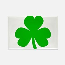 Three Leaf Clover Rectangle Magnet