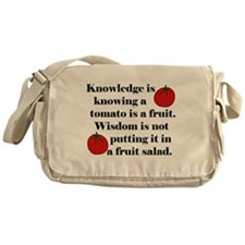 Tomato Fruit Salad Messenger Bag
