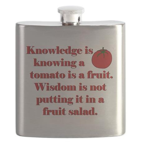 Tomato Fruit Salad Flask