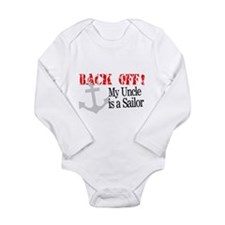 Back Off My Uncle is a Sailor Body Suit