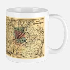 Unique Historic maps Mug