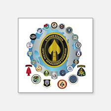 "USSOCOM - SFA Square Sticker 3"" x 3"""