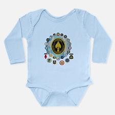 USSOCOM - SFA Long Sleeve Infant Bodysuit