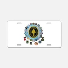 USSOCOM - SFA Aluminum License Plate
