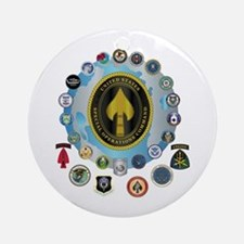 USSOCOM - SFA Ornament (Round)