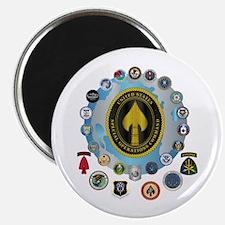 """USSOCOM - SFA 2.25"""" Magnet (10 pack)"""