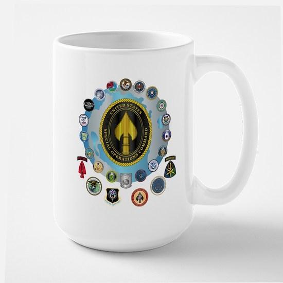 USSOCOM - SFA Large Mug