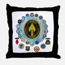 USSOCOM - SFA Throw Pillow
