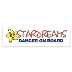 Stardreams Dance Bumper Bumper Sticker