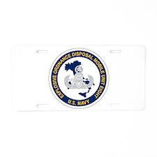 EOD Mobile Unit 8 Aluminum License Plate