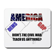 Divided America Mousepad