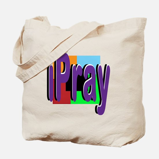 iPray Tote Bag