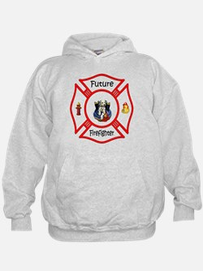 Cute Baby firefighter Hoodie