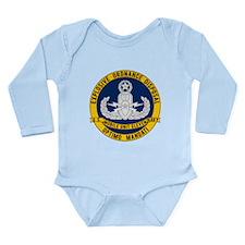 EOD Mobile Unit 11 Long Sleeve Infant Bodysuit
