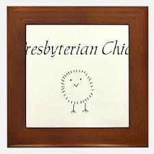 Presbyterian chick.png Framed Tile