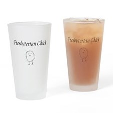 Presbyterian chick.png Drinking Glass