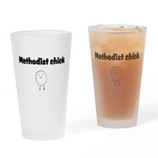 methodist chick.png Drinking Glass