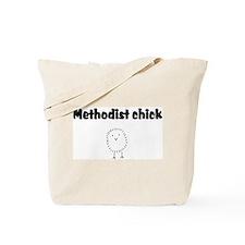 methodist chick.png Tote Bag