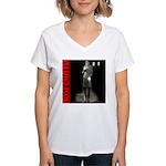 Nosferatu Design-03 Women's V-Neck T-Shirt