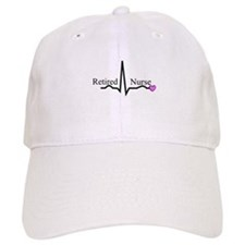 Retired Nurse QRS Baseball Baseball Baseball Cap
