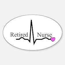 Retired Nurse QRS Decal