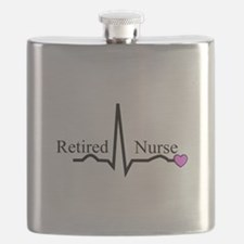 Retired Nurse QRS Flask