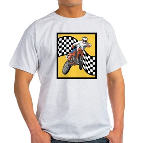 Motorcycle Ash Grey T-Shirt
