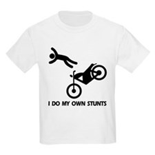 Motorcycle, motorcycle stunts Kids T-Shirt