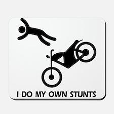 Motorcycle, motorcycle stunts Mousepad