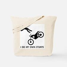 Motorcycle, motorcycle stunts Tote Bag