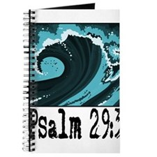 wave psalm 29 blue.png Journal
