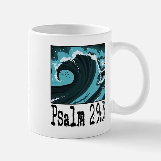 wave psalm 29 blue.png Mug