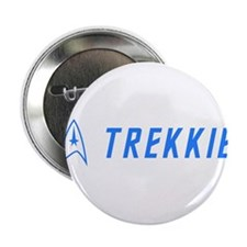 "Trekkie Blue 2.25"" Button"