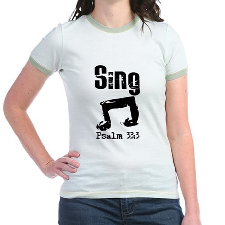 sing psalm 33.png T-Shirt