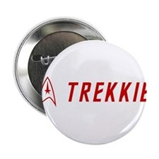 "Trekkie Red 2.25"" Button"
