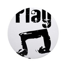 play psalm 33.png Ornament (Round)