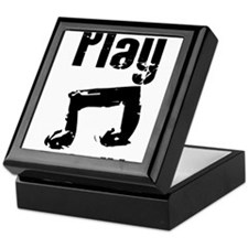 play psalm 33.png Keepsake Box
