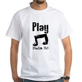 Band and choir Mens White T-shirts