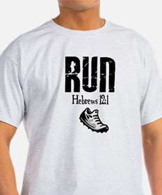 run hebrews.png T-Shirt